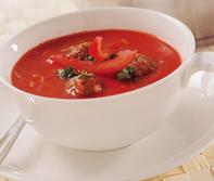 Huis gemaakte soepen met originele recepten met verse ingrediënten.