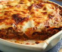 Complete kant en klare ovenschotels als maaltijd.